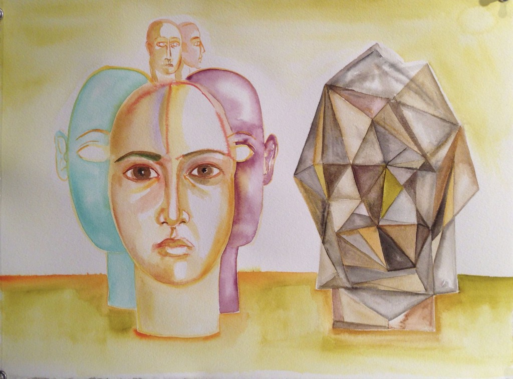 "60, 2012 12""x16"", watercolor on paper"