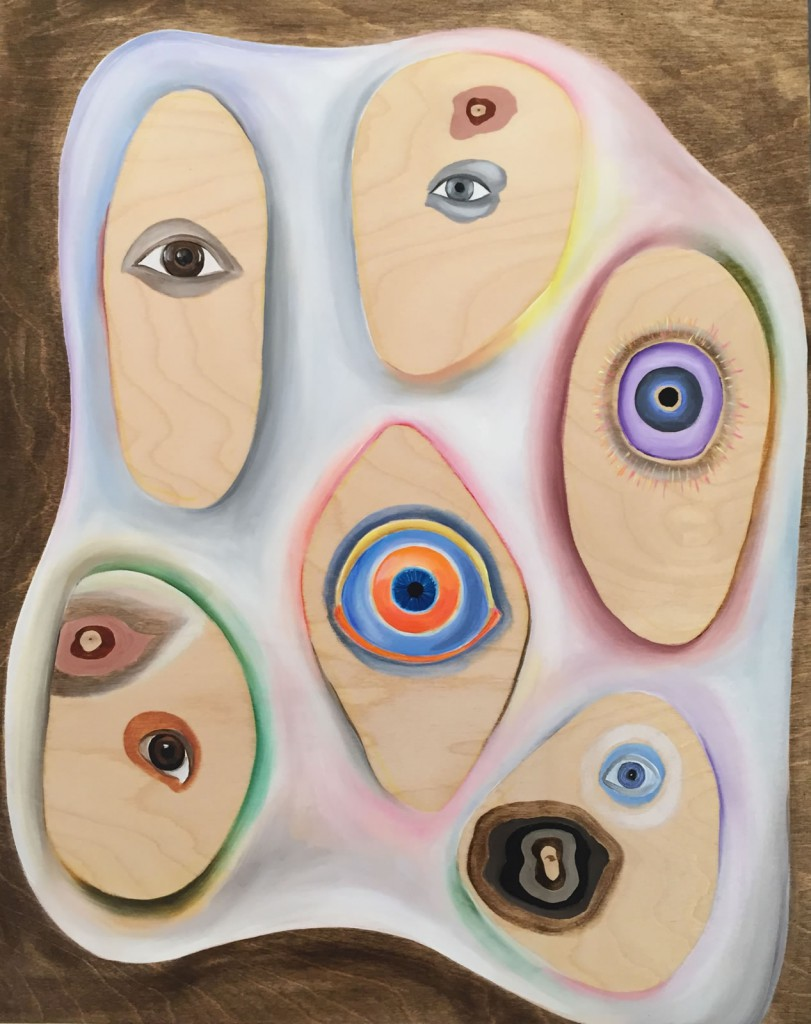 "painting/sculpture, 20x16"", 2015, oil on panel"