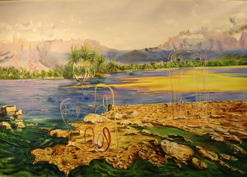 "Marooned, 2010, 48x68"", oil on canvas"